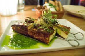 Combina - Food NY - haloumi with chimichurri
