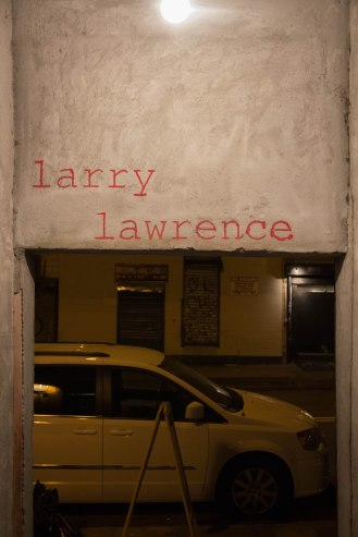 Larry Lawrence - Bar Williamsburg - entrance - Grand Street 2