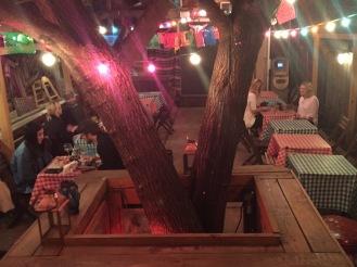 Santos Anne - Restaurant Brooklyn - Courtyard