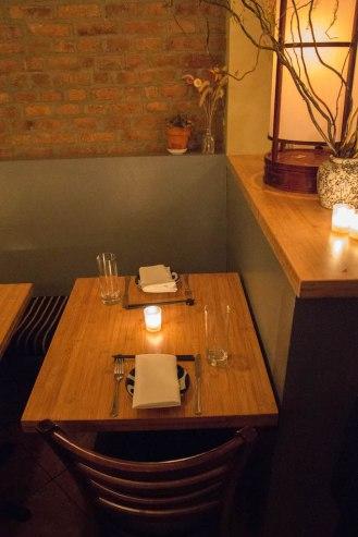 Shalom Japan - Japanese Jewish Restaurant - Table