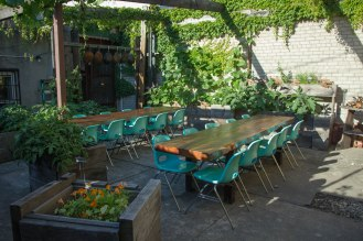 Kings County Imperial - Chinese restaurant - Williamsburg - garden backyard