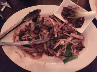 Kings County Imperial - Chinese restaurant - Williamsburg - tea smoked mu shu duck