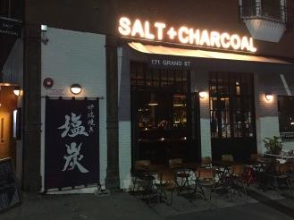 Salt + Charcoal - Robata Restaurant Brooklyn - Outdoor seating