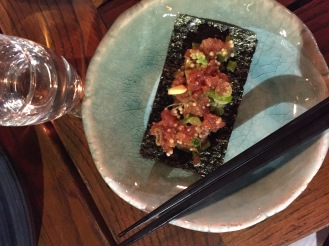 Salt + Charcoal - Tuna Tartare - Robata Restaurant Brooklyn